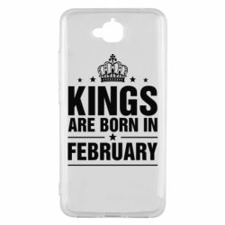 Чехол для Huawei Y6 Pro Kings are born in February - FatLine