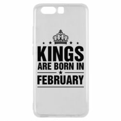 Чехол для Huawei P10 Kings are born in February - FatLine