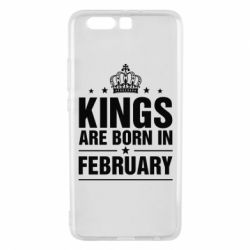 Чехол для Huawei P10 Plus Kings are born in February - FatLine