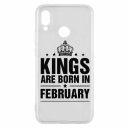 Чехол для Huawei P20 Lite Kings are born in February - FatLine