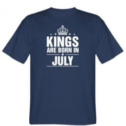 Футболка Kings are born in July