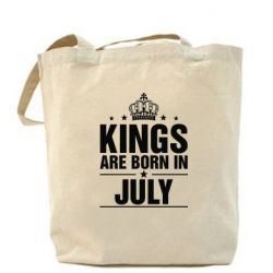 Сумка Kings are born in July