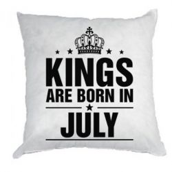Подушка Kings are born in July