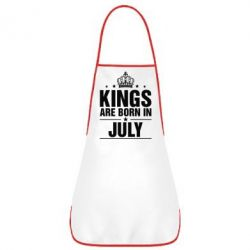 Фартук Kings are born in July