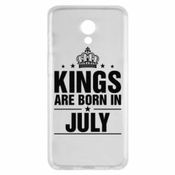 Купить Чехол для Meizu M6s Kings are born in July, FatLine
