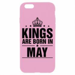 Чехол для iPhone 6/6S Kings are born in May - FatLine