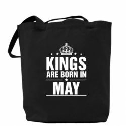 Сумка Kings are born in May - FatLine
