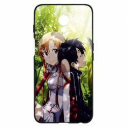 Купить Masha, Чехол для Meizu M6s Kirito and Asuna in the forest, FatLine