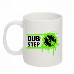 Кружка 320ml Кислотный Dub Step - FatLine