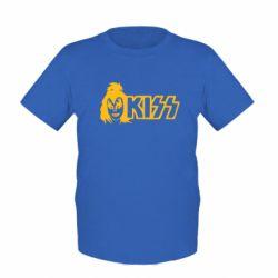Детская футболка Kiss Album - FatLine