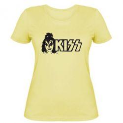 Женская футболка Kiss Album - FatLine