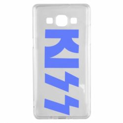 Чехол для Samsung A5 2015 Kiss Logo