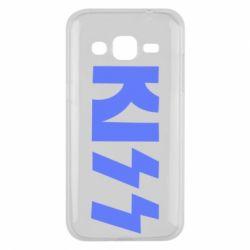 Чехол для Samsung J2 2015 Kiss Logo