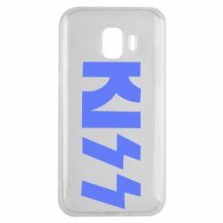 Чехол для Samsung J2 2018 Kiss Logo