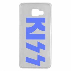 Чехол для Samsung A7 2016 Kiss Logo