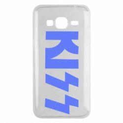 Чехол для Samsung J3 2016 Kiss Logo
