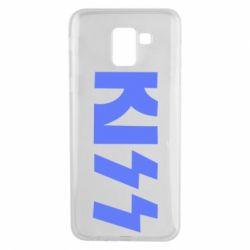 Чехол для Samsung J6 Kiss Logo