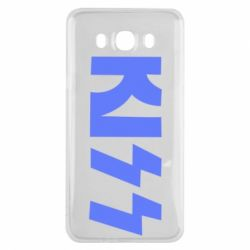 Чехол для Samsung J7 2016 Kiss Logo
