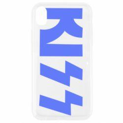 Чехол для iPhone XR Kiss Logo