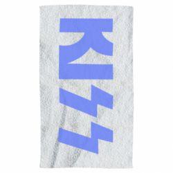 Полотенце Kiss Logo