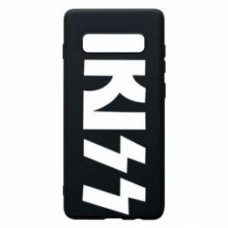 Чехол для Samsung S10+ Kiss Logo