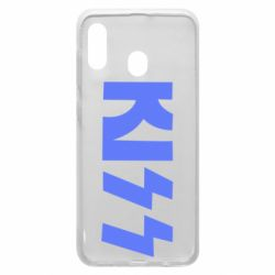 Чехол для Samsung A20 Kiss Logo
