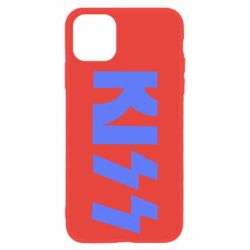Чехол для iPhone 11 Kiss Logo