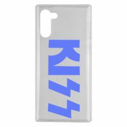 Чехол для Samsung Note 10 Kiss Logo