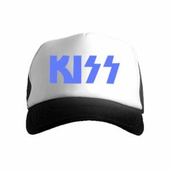 Детская кепка-тракер Kiss Logo