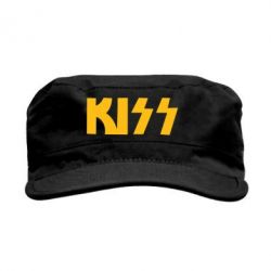 Кепка милитари Kiss Logo - FatLine