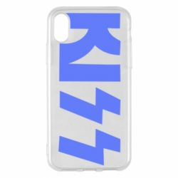 Чехол для iPhone X/Xs Kiss Logo