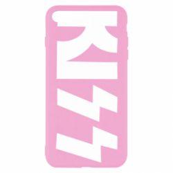 Чехол для iPhone 8 Plus Kiss Logo