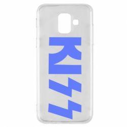 Чехол для Samsung A6 2018 Kiss Logo
