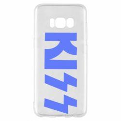 Чехол для Samsung S8 Kiss Logo
