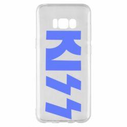Чехол для Samsung S8+ Kiss Logo
