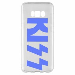 Чохол для Samsung S8+ Kiss Logo