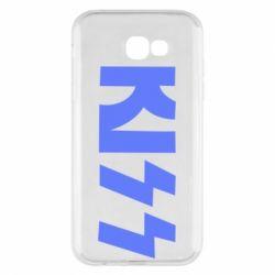 Чехол для Samsung A7 2017 Kiss Logo