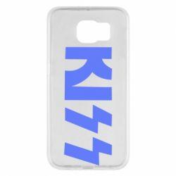 Чехол для Samsung S6 Kiss Logo