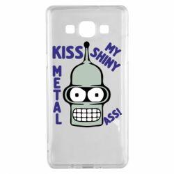 Чехол для Samsung A5 2015 Kiss metal