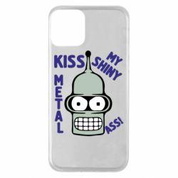 Чехол для iPhone 11 Kiss metal