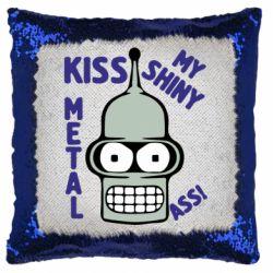 Подушка-хамелеон Kiss metal