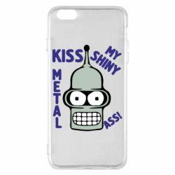 Чехол для iPhone 6 Plus/6S Plus Kiss metal