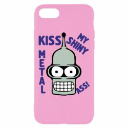 Чехол для iPhone 8 Kiss metal