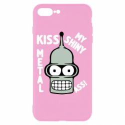 Чехол для iPhone 8 Plus Kiss metal