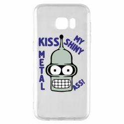 Чехол для Samsung S7 EDGE Kiss metal