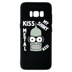 Чехол для Samsung S8 Kiss metal