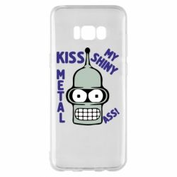 Чехол для Samsung S8+ Kiss metal