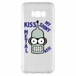 Чохол для Samsung S8+ Kiss metal