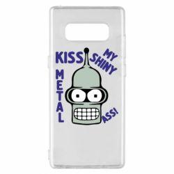 Чехол для Samsung Note 8 Kiss metal