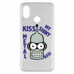Чохол для Xiaomi Mi8 Kiss metal